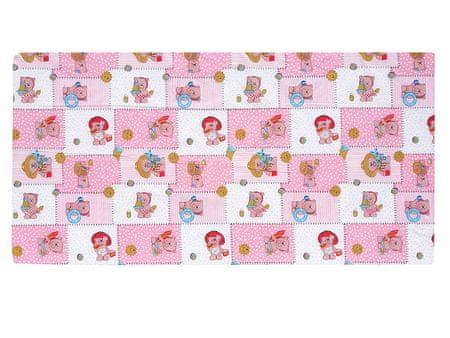 COSING Otroška vzmetnica 120 × 60 × 7 cm, roza