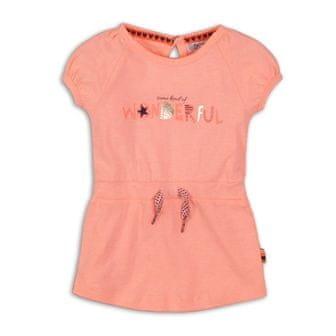 Dirkje dekliška obleka NEON, 98, oranžna