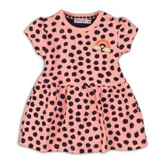 Dirkje dekliška obleka Neon, 62, oranžna