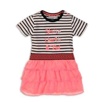 Dirkje dekliška obleka NEON, 86, roza