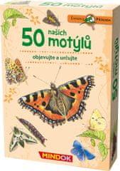 Mindok Expedícia príroda: 50 našich motýľov