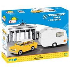 Cobi 24590 TRABANT 601 s karavanem, 218 k