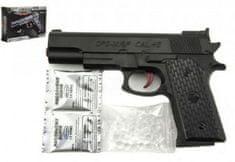 Teddies Pistole na vodní kuličky 7-8mm plast 18cm v krabičce 19x12x3,5cm