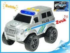 Mikro Trading Auto policie 18cm na setrvačník na baterie se světlem a zvukem