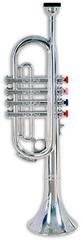 BONTEMPI Trumpeta stříbrná 4 klapky