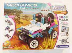 Clementoni Mechanická laboratoř - Safari park, 10 modelů, 200 dílků