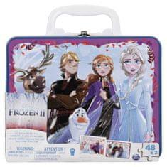 Frozen Ledové království 2 puzzle v plechovém kufříku