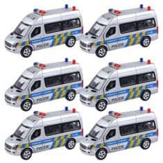 HMStudio Auto kovové Policie Mercedes-Benz 1:32