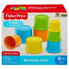 Fisher-Price Fisher Price Stohovací kelímky