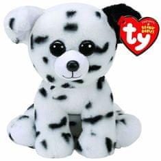 TY Beanie Boos plyšový pejsek sedící Dalmatin 24 cm