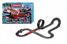 Conquest Autodráha Carrera GO!!! 62498 Supercharger 6,3m + 2 auta v krabici 58x40x12cm