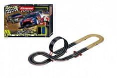 Conquest Autodráha Carrera GO!!! 62490 Super Rally 4,9m + 2 auta v krabici 58x40x10cm
