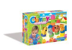 Clementoni CLEMMY - Zvieratká a farebné kocky
