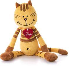 Lumpin Mačka Pipa Lipa, stredná - žltá (38 cm)