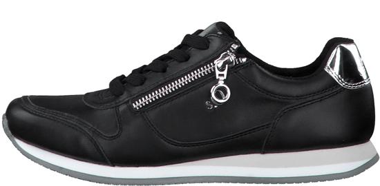 s.Oliver dámské tenisky 23608 41 černá + dámský s.Oliver dust bag na obuv ZDARMA