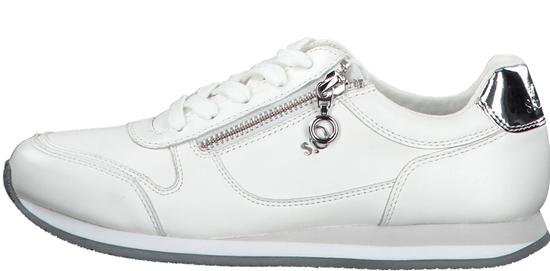 s.Oliver dámské tenisky 23608 36 bílá + dámský s.Oliver dust bag na obuv ZDARMA