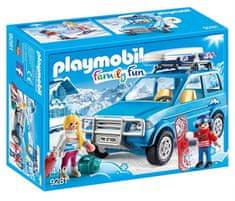 Playmobil 9281 Auto se střešním boxem