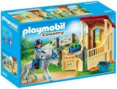Playmobil 6935 Box pro koně - Appaloosa