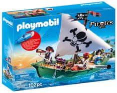 Playmobil 70151 Pirátská loď s podvodním motorem