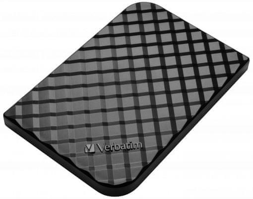 Vysokorychlostní externí pevný SSD disk Verbatim Store ´n´ Go Portable SSD 512 GB (53250) USB 3.1 Gen 2,spouštění virtuálních zařízení