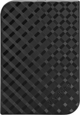 Externí harddisk SSD Verbatim Store ´n´ Go Portable SSD 512 GB (53250) USB 3.1 Gen 1, nízká hmotnost, hliníkový, pevný, lehký, odolný, malý