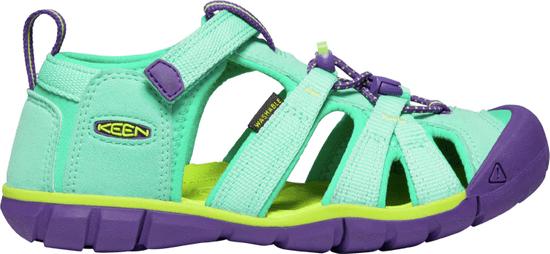 KEEN juniorské sandále Seacamp II CNX Jr. 1022987/36 svetlozelená