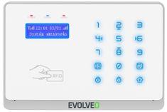 Evolveo Salvarix bezdrôtový WiFi GSM alarm s čítačkou RFID