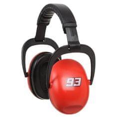 Cdiscount sluchátka potlačující hluk, červená