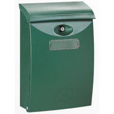 Decayeux poštovní schránka, zelená