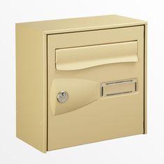 Decayeux poštovní schránka, béžová
