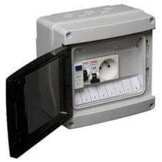 Debflex předem osazený elektrický panel