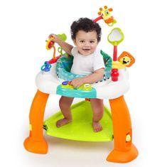 Bright Starts multifunkční dětská hrací stanice se skákací podložkou