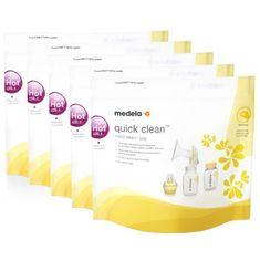 Medela Quick Clean sada sáčků pro dezinfekci v mikrovinné troubě