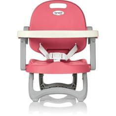 Brevi dětský jídelní podsedák na běžnou židly 482-072 - růžový