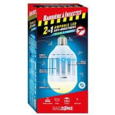 Barriere A Insectes LED žárovka teplá bílá odpuzující komáry 2 v 1