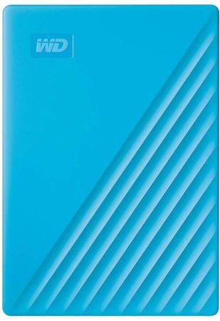 Western Digital My Passport 2 TB prijenosni disk, plavi