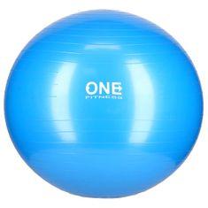 ONE Fitness gymnastická lopta GB10, 65 cm, modra