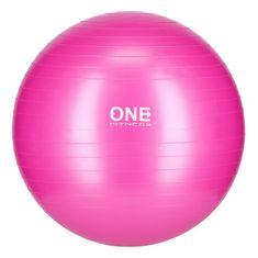 ONE Fitness gymnastický míč GB10, 55 cm, růžový