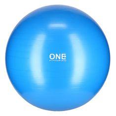 ONE Fitness gymnastická lopta GB10, 75 cm, modra