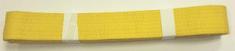Ostatní Pásek ke kimonu JUDO v.3 EFFEA ŽLUTÁ