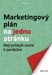 Allan Dib: Marketingový plán na jednu stránku - Nejrychlejší cesta k penězům