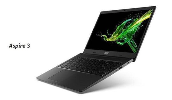 Notebook Acer Aspire 3 dostupný ryzen multitasking rychlý disk SSD elegantní