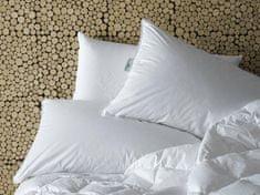 Daunen Step Tuhšie páperový vankúš 40 x 80 cm v bavlnenom poťahu, trojkomorový