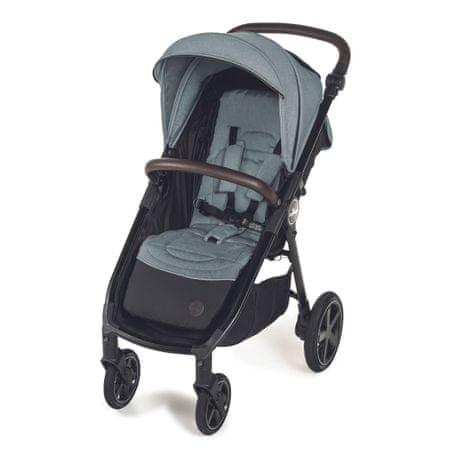 Baby Design otroški voziček Look air, turquoise 2020, turkizen