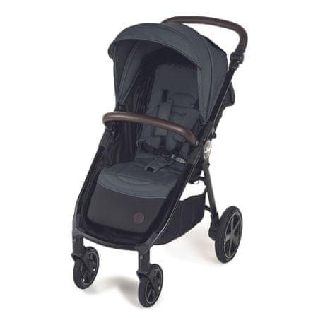 Baby Design otroški voziček Look Air 17 Graphite 2020, grafiten