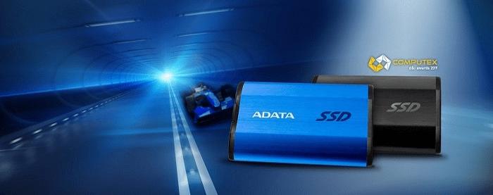 ADATA SE800 1TB, modrá (ASE800-1TU32G2-CBL) ochrana tri vrstvy odolnosť voči pádom