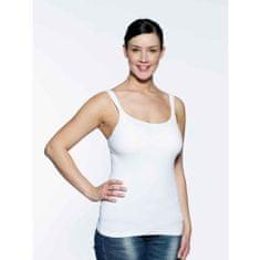 Medela Koszulka Tank Top ze zintegrowanym biustonoszem, rozmiar L, biała