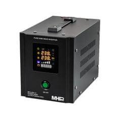MHpower Záložní zdroj MPU-500-12, UPS, 500W, čistý sinus, 12V