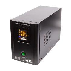 MHpower Záložní zdroj MPU-700-12, UPS, 700W, čistý sinus, 12V