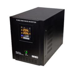 MHpower Záložní zdroj MPU-1200-12, UPS, 1200W, čistý sinus, 12V